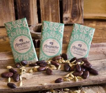 Chocolate Oscuro con Cardamomo